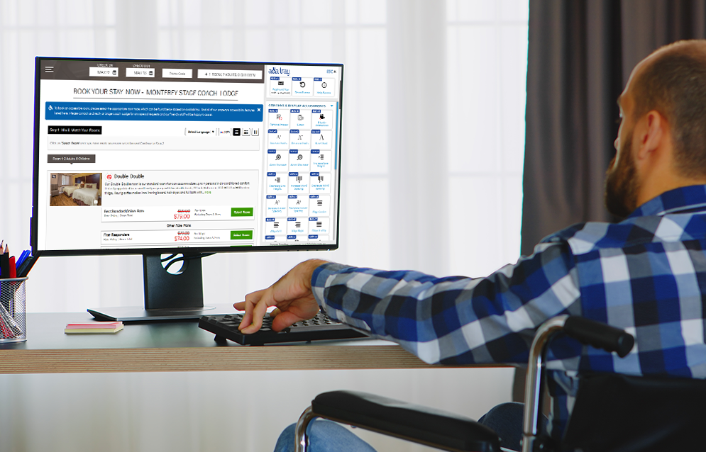 Make Your Booking Engine or Shopping Cart More Accessible