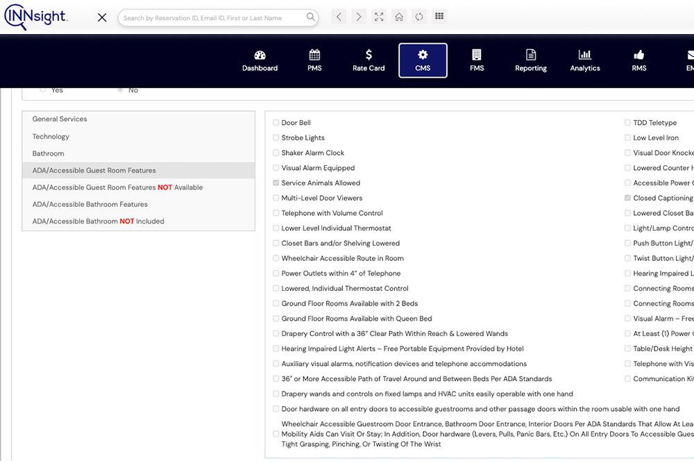 Content Management System (CMS) That Controls Accessibility Content
