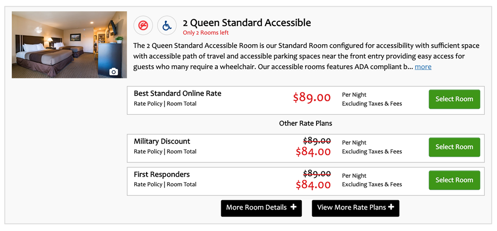 INNsight's Powerful Booking Engine Guarantees The Bookability of Accessible Rooms
