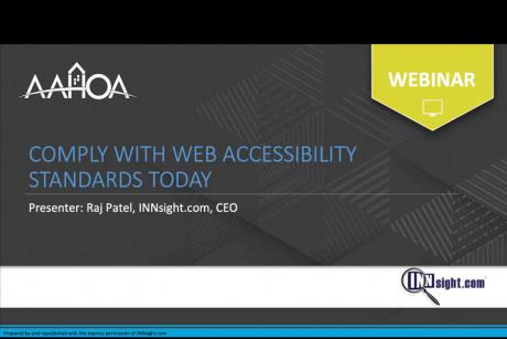 ADA Webinar
